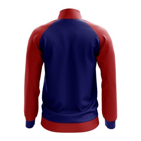 Croatia Concept Football Track Jacket (Navy)