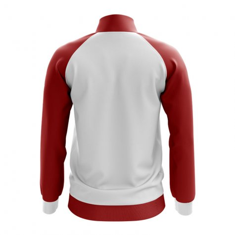 Peru Concept Football Track Jacket (White) - Kids