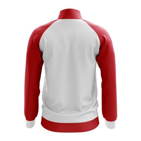 Puerto Rico Concept Football Track Jacket (White)