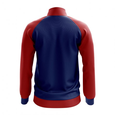 Czech Republic Concept Football Track Jacket (Blue) - Kids