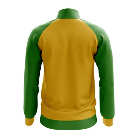 Mauritania Concept Football Track Jacket (Yellow)