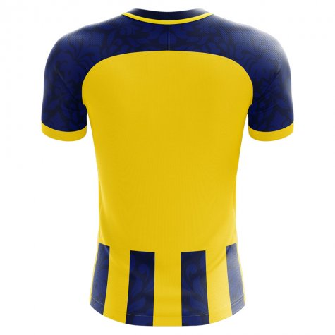 2020-2021 Fenerbahce Home Concept Football Shirt