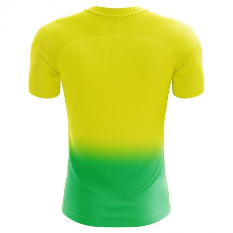 2019-2020 Norwich Home Concept Football Shirt