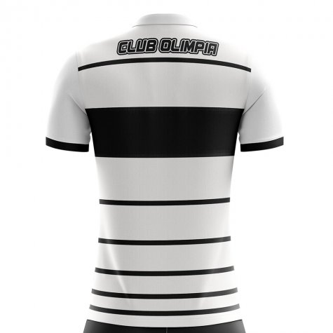 2020-2021 Club Olimpia Home Concept Football Shirt