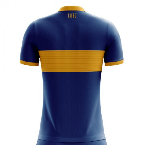 2019-2020 Boca Juniors Home Concept Football Shirt (TEVEZ 32)