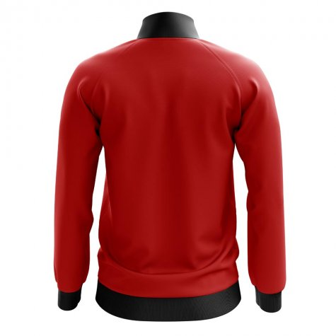 Milan Concept Football Track Jacket (Red)