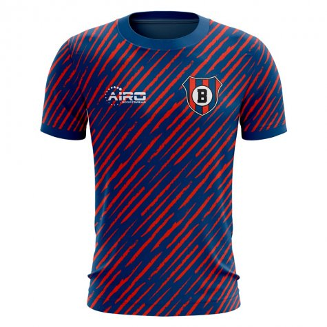2020-2021 Bologna Home Concept Football Shirt (Your Name)