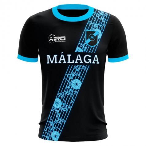 2020-2021 Malaga Away Concept Football Shirt (Pacheco 22) - Kids