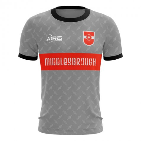 2020-2021 Middlesbrough Away Concept Football Shirt (Ravanelli 11) - Kids