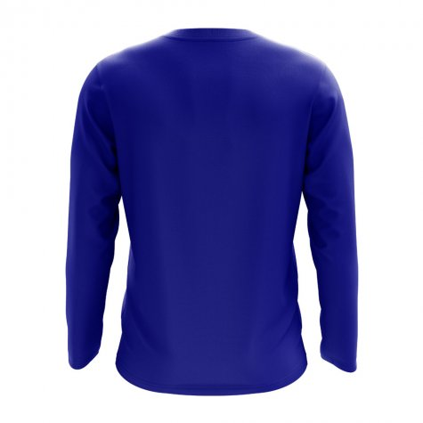 Honduras Core Football Country Long Sleeve T-Shirt (Royal)