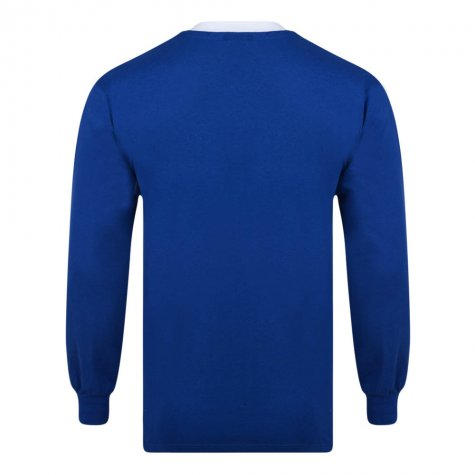 Score Draw Everton 1966 FA Cup Winners Retro Football Shirt