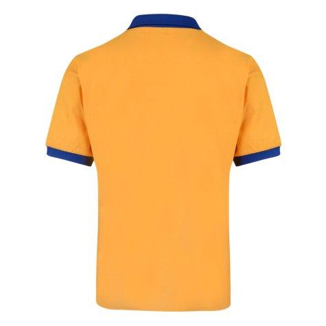 Score Draw Juventus 1984 ECWC Away Retro Football Shirt
