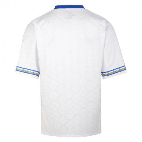 Score Draw Leeds United 1993 Admiral Retro Football Shirt (STRACHAN 7)