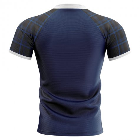 2020-2021 Scotland Home Concept Rugby Shirt - Little Boys