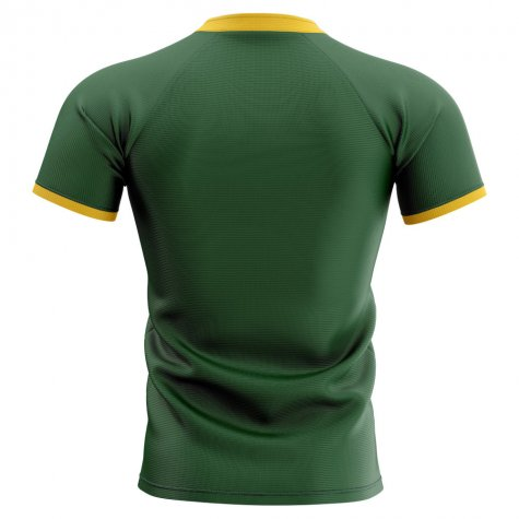 2019-20 South Africa Springboks Flag Concept Rugby Shirt (Vermeulen 8)