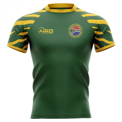 2020-2021 South Africa Springboks Home Concept Rugby Shirt (Vermeulen 8)