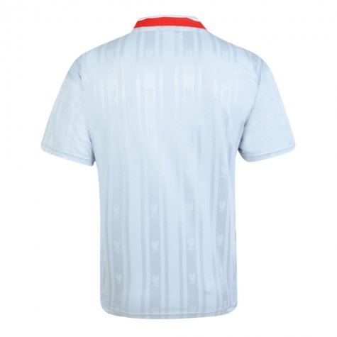 Score Draw Liverpool FC 1987 Away Retro Football Shirt