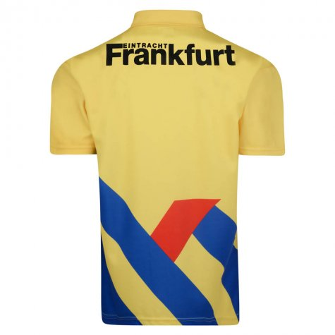 Score Draw Eintracht Frankfurt 1994 Away Retro Football Shirt