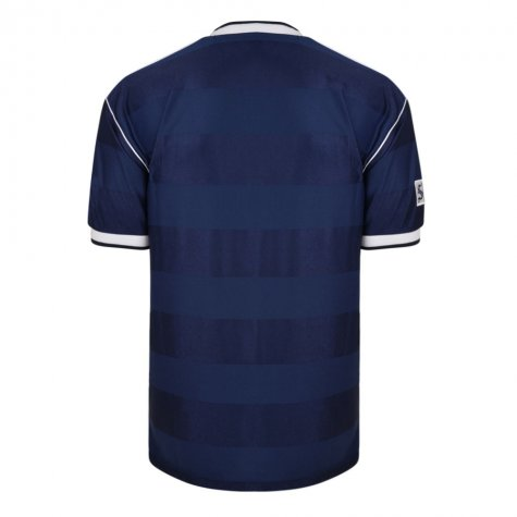 Score Draw Scotland 1986 Retro Football Shirt (McArthur 6)