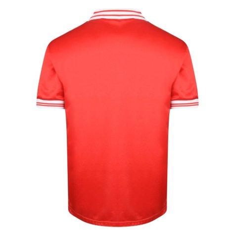 Score Draw Vfb Stuttgart 1980 Auswart Retro Football Shirt