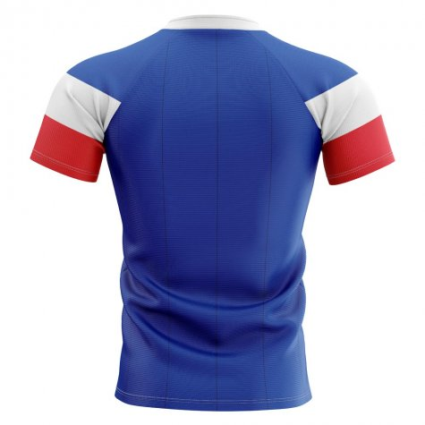 2019-2020 France Home Concept Rugby Shirt - Kids