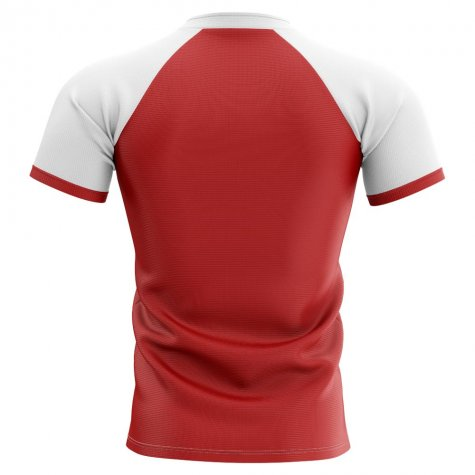 2019-2020 Tonga Home Concept Rugby Shirt - Kids