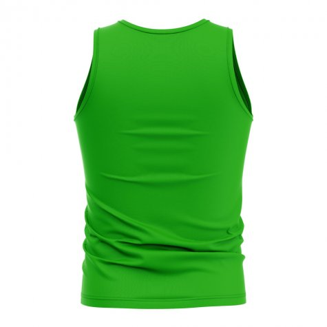 South Africa Core Football Country Sleeveless Tee (Green)
