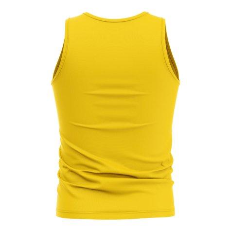 Tanzania Core Football Country Sleeveless Tee (Yellow)