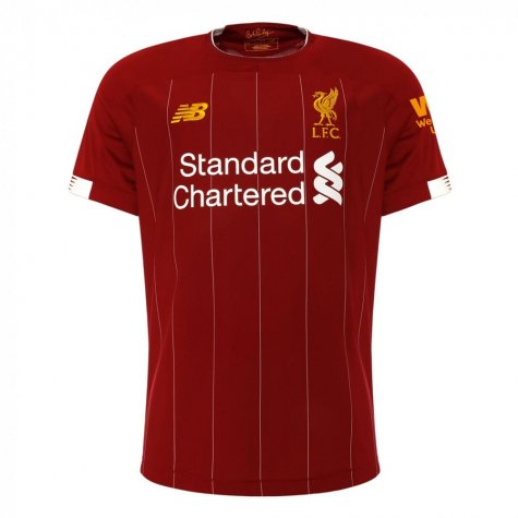 2019-2020 Liverpool Home Football Shirt (Lallana 20)