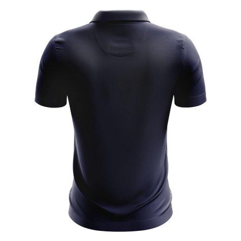 Central African Republic Football Polo Shirt (Navy)