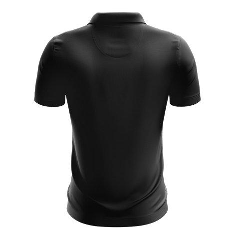 China Football Polo Shirt (Black)