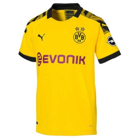 2019-2020 Borussia Dortmund Home Puma Shirt (Kids) (GUERREIRO 13)