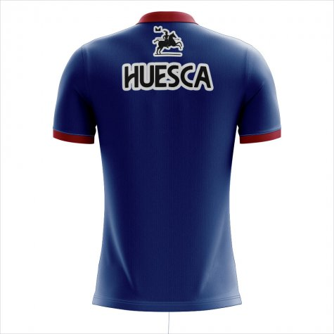 2019-2020 SD Huesca Home Concept Football Shirt - Womens