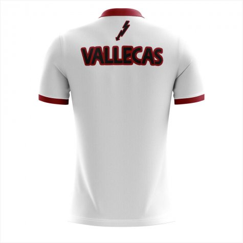 2019-2020 Rayo Vallecano Home Concept Football Shirt - Womens