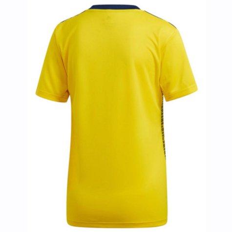 2019-2020 Sweden Home Adidas Womens Shirt