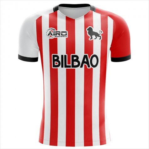 2020-2021 Athletic Bilbao Home Concept Football Shirt (Your Name)