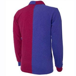 quality design fc8c6 2fe41 FC Barcelona 1899 Long Sleeve Retro Football Shirt