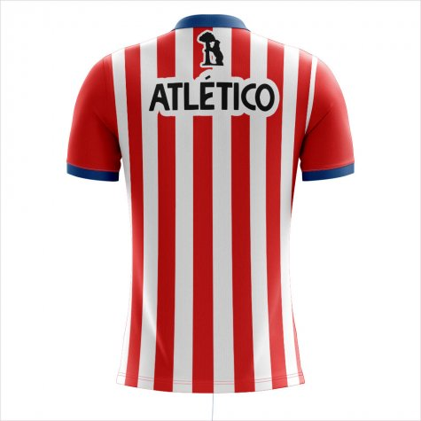 2020-2021 Atletico Concept Training Shirt (Red-White)