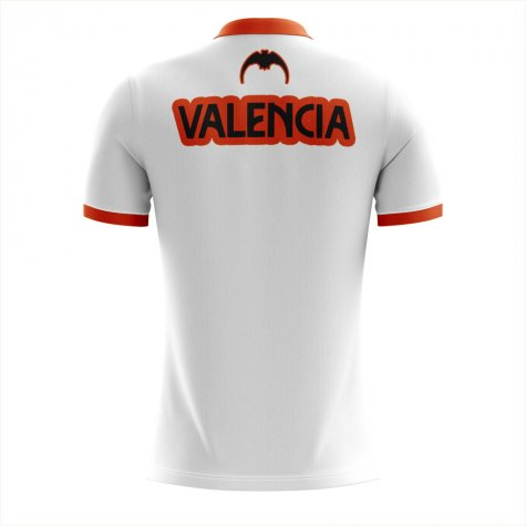 2019-2020 Valencia Home Concept Football Shirt - Kids