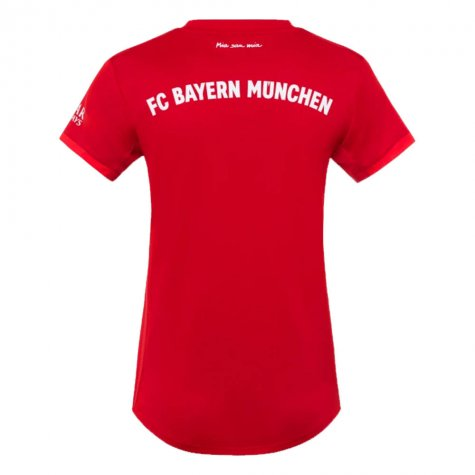 2019-2020 Bayern Munich Adidas Home Womens Shirt (Maier 20)