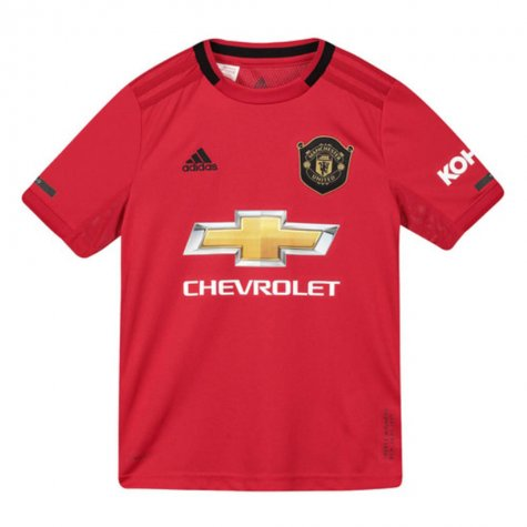2019-2020 Man Utd Adidas Home Football Shirt (Kids) (VAN DER SAR 1)