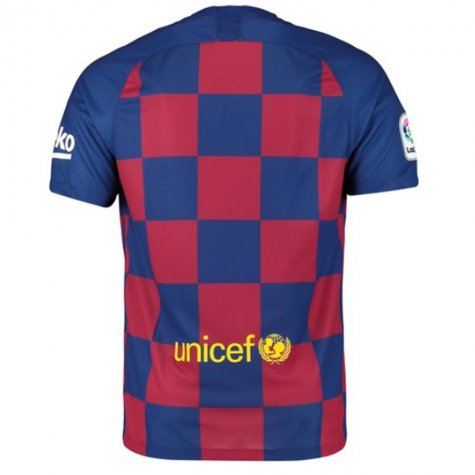 2019-2020 Barcelona Home Nike Football Shirt (VIDAL 22)