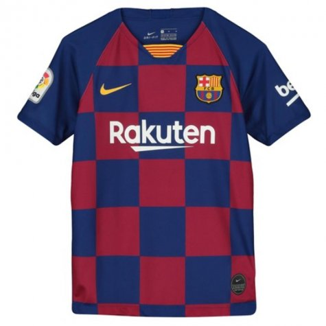 2019-2020 Barcelona Home Nike Shirt (Kids) (ARTHUR 8)