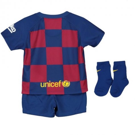 2019-2020 Barcelona Home Nike Baby Kit (SERGIO 5)
