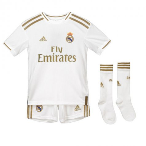 2019-2020 Real Madrid Adidas Home Full Kit (Kids) (DI STEFANO 9)