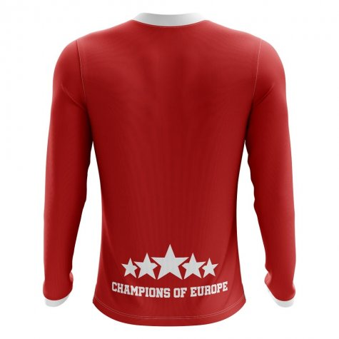 2020-2021 Liverpool 6 Time Champions Concept Football Shirt - Adult Long Sleeve