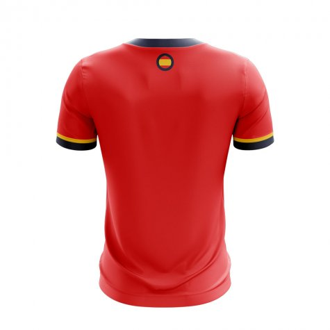 2020-2021 Spain Home Concept Football Shirt