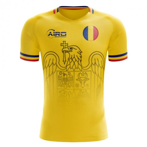 2019-2020 Romania Home Concept Football Shirt (Your Name)