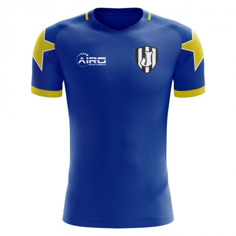 2020-2021 Turin Away Concept Football Shirt (Trezeguet 17)