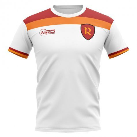 2019-2020 Roma Away Concept Football Shirt (MANOLAS 44)